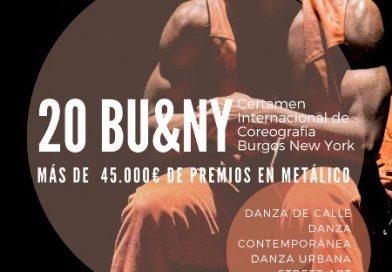 Certamen Internacional de danza Burgos – Nueva York 2021